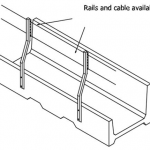 Fence line feed bunk detail